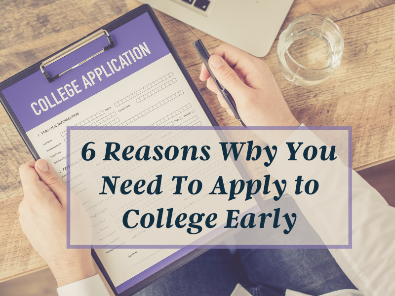 apply early to college
