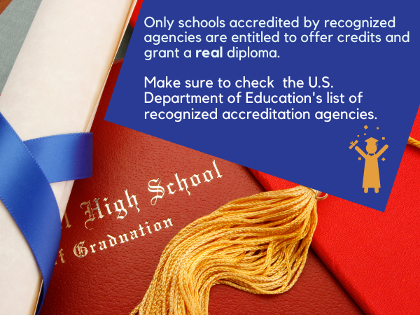 Online HS Accreditation fact 1